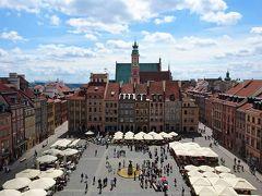雨多き初夏のポーランド(1) 破壊からの復興~ポーランド人の魂 ワルシャワ旧市街