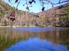 ☆秋だから…上高地帝国ホテルへ ♪ ☆秋晴れの上高地ハイキング♪明神岳と神秘の明神湖ブルー☆