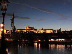 駆け足で巡る中欧5カ国の旅 8 百塔の町 麗しのプラハ (夜のプラハ観光)