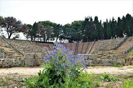 魅惑のシチリア×プーリア♪ Vol.49 ☆ティンダリの古代ギリシア遺跡:夢の跡の劇場♪