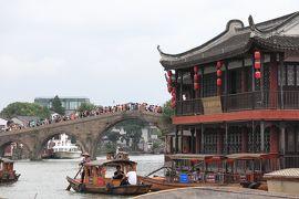 熱いぞ上海!#遊覧船で朱家角を満喫