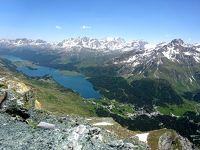 2019年 久しぶりのスイスハイキング(エンガディン) (3)ビビオ~Piz Lunghin~マローヤ峠へ