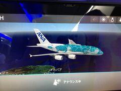 久しぶりのハワイ by ANA A380 2日目から3日目