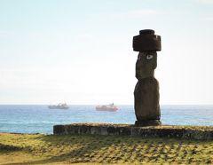2019 サンチアゴ→イースター島→・・・ その3~モアイ達の島へ