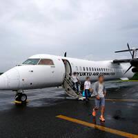 家族で与論島旅行〈1〉悪天候の与論島へ