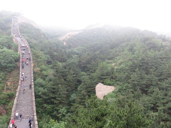 2019芒種「北京へ一人旅」(8_霧の万里の長城_ニ)