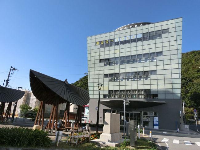 徳島へ一人旅<br />徳島駅近くで宿泊しました。<br />翌自は午前中に戻りのため、近くの阿波踊り会館だけ行きました。