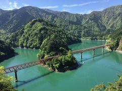 2017年GW 静岡の旅【13】根強い絶景スポット「奥大井湖上駅」
