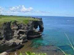 夏!!沖縄 今帰仁城跡・万座毛・真栄田岬・残波岬へ寄りました。