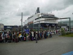 2017年7月北欧フィヨルドツアーその5 DFDSフェリーでコペンハーゲンへ