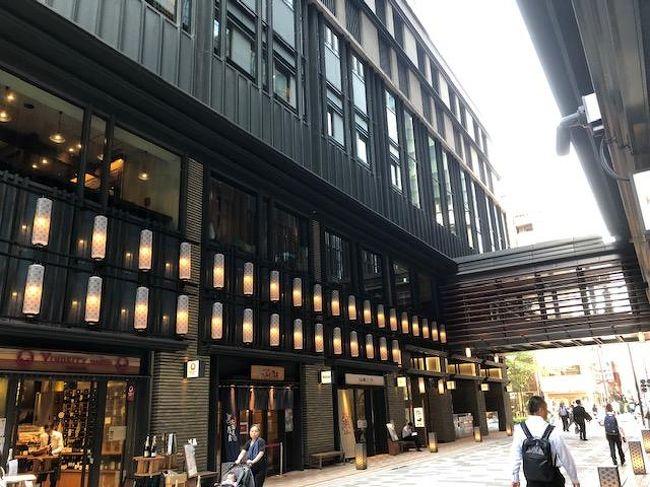 東京日本橋のホテルでのんびりとしました。