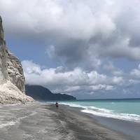2019年7月 新島の夏よ・秘密のシークレットへ??つかの間の道固めて行けるぜシークレット編