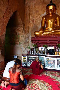 カックー遺跡&バガン遺跡で敬虔な祈りの心に触れる旅 in ミャンマー★2019 11 7日目【NYU】