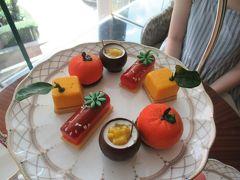 足まめ母娘の香港2人旅11回目�「Tiffin」デザートビュッフェ・アフタヌーンティーと「Café Kool」の朝食ビュッフェ