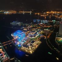 横浜ショートトリップ ロイヤルパークホテル夜景とカフェなど