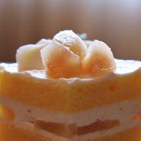 桃のショートケーキを食べに浦和のパインズへ