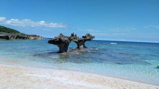 夏★沖縄③ 古宇利島 エメラルドビーチ