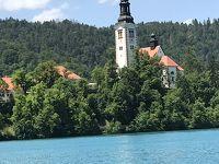 いよいよ最後です。クロアチア  スロベニア  絵画にようなブレッド湖畔とザブレグ5