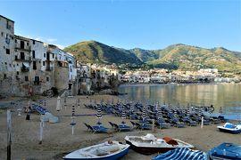 魅惑のシチリア×プーリア♪ Vol.91 ☆チェファルー:旧港から朝の美しい風景♪