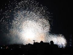 25分に2万発の花火が飛び交う、みなとみらいスマートフェスティバル