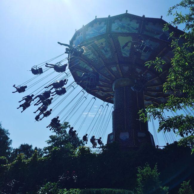 夏休みの定番と言えば、Liseberg遊園地。<br />暑い中、一日中遊んだ~!