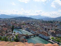 2019.7 スイス・ドイツの旅② 中央スイスの古都・ルツェルンへ日帰り♪