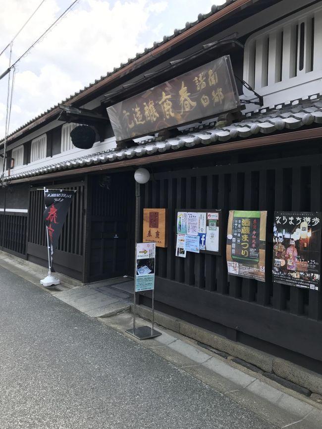 午後4時に来客あるが、それまで特に用事もなかったので、以前から一度行ってみたかった奈良の地ビール醸造所と明治時代創業の古都奈良の有名酒蔵に利き酒に行った。