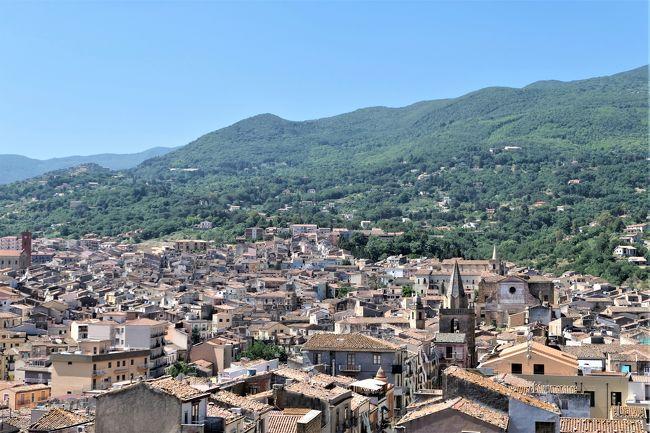 魅惑のシチリア×プーリア♪ Vol.102 ☆カステルブオーノ:ヴェンティミーリア城からパノラマ♪