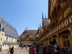 フランス アルザス、ブルゴーニュ地方のワインツアーとパリ(5) ボーヌの観光など
