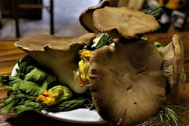 魅惑のシチリア×プーリア♪ Vol.108 ☆カステルブオーノ:オステリア「Nangalarrumi」キノコ料理♪