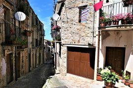 魅惑のシチリア×プーリア♪ Vol.113 ☆ジェラーチ・シクーロ:山岳村らしい旧市街の景観♪