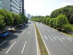 皇居の正門石橋から赤坂御所(赤坂御用地)正門まで、御即位パレード(祝賀御列の儀)のルートを歩く