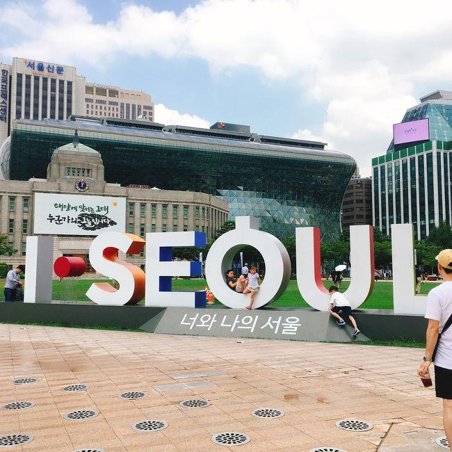 海外旅行初めての母&姉を連れての女3人旅!<br />私自身は5度目の韓国(4度目のソウル)でしたが、そういえば行ったことないよなーというお店ばかりだったので、新鮮な気持ちで楽しめました♪(*≧∀≦*)<br />目的は食とコスメ&洋服漁り!<br />(とくに観光地などには行ってないので写真少なめです。。)<br /><br />歩きに歩いて平均1日2万歩。。。<br />還暦過ぎた母ちゃんもよく頑張りました。。(><)<br /><br />《1日目》<br />  福岡空港14:25発 ティーウェイ航空<br />→COEXモール(三成)→PACIFIC HOTEL(明洞)<br />《2日目》<br />景福宮→仁寺洞→プゴクチプ(市庁)→明洞→王妃家(明洞)<br />《3日目》<br />アリラン(明洞)→東大門→ソウル駅→仁川空港