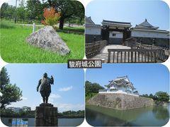 夏旅2019甲府・静岡(8)駿府城公園(静岡)は天守台発掘調査公開中
