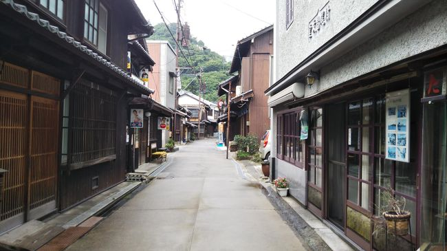 はじめての広島、3日目は御手洗の町並みを歩きます。<br />雨が降ったりやんだりのなか、瀬戸内を満喫できました。