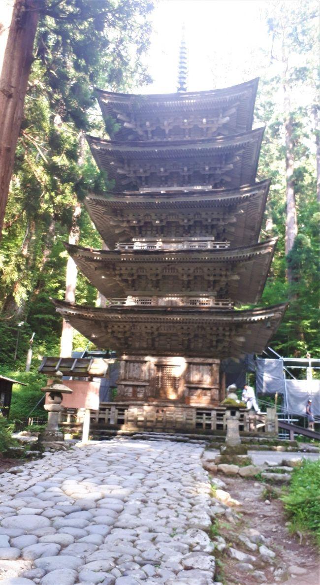 山形の有名場所を巡る1泊2日の旅。<br />立石寺→羽黒山→加茂水族館と行ってきました。<br />1泊2日なのにとても濃い旅になったので<br />3つに分けて旅行記を書きました。<br />その中の羽黒山編です。