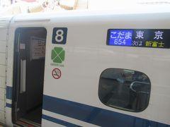 夏旅2019甲府・静岡(9終)こだま号グリーン車と東海道線2階建てグリーン車で帰ります
