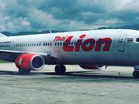 タイ ・ ライオン ・ エア  に  Sting  が、 初めて  乗った時   〜 2019