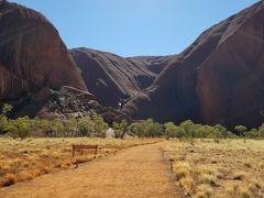 JGC修行で真冬のオーストラリア旅行④エアーズロック1周トレッキング