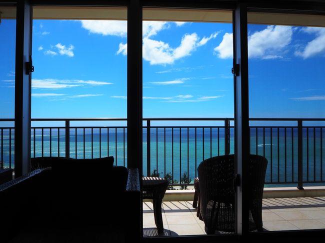 なかなか梅雨が明けない沖縄・・・大雨の予報も出ている中、1週間の沖縄旅行へ行ってきました。<br /><br />ここのところ忙しくて、旅の前半(その1~その4)を投稿してから1カ月以上空いてしまいました。同じ旅行記グループになっていますので、ご興味のある方は前半も読んでくださると嬉しいです。<br /><br /><6日目><br />楽しかった渡嘉敷島から本島の恩納村へ向かいます。そろそろ旅の終わりが見えてきて切ない・・・(&gt;_&lt;)