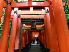 初夏の京都への旅。 その1──「伏見稲荷大社」