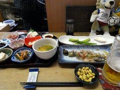 初夏の北海道4泊 独酌 三四郎(どくしゃく さんしろう)の夕食