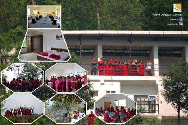 1ヵ月ヒマラヤのOSHOのアシュラムに滞在する。<br />2016年にオープンしたアシュラムで環境、設備、スタッフ 大変良かったです。<br />毎朝6時から瞑想する日々