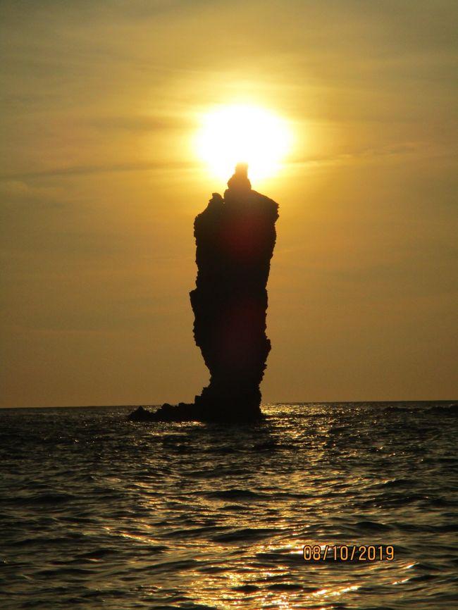 7年越しで叶った夢: 2日連続で島根の素晴らしい夕焼けを堪能! 2019年夏の帰省旅 Part I 隠岐の島編