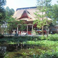 真夏の東北三県巡り(4)羽黒山頂・出羽神社(三神合祭殿)