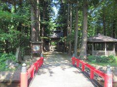 真夏の東北三県巡り(5)出羽三山の麓にある国指定名勝・玉川寺庭園