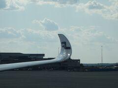 Airbus A350-900 に乗りました。HEL-NGO AY79 便です。ロンドンからの機材をそのまま使っていました。