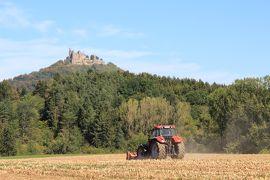 かわいい村巡り☆初秋のドイツ・黒い森とフランス・アルザス、木組みの家を求めて 5日目 その1 ホーエンツォレルン城