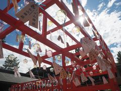 新潟ドライブ日帰り旅~と出かけて、新潟白山神社の風鈴まつりだけ見てきました