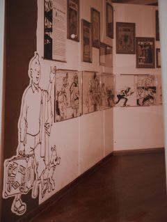 【ベネルクス】5/9作目 初めてのヨーロッパ一人旅 ゜*・ベルギー★ブリュッセルのマンガ博物館編・*゜